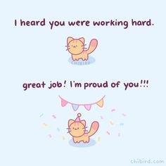 Cute Motivational Quotes, Cute Inspirational Quotes, Cute Quotes, Words Quotes, Positive Quotes, Motivating Quotes, Kawaii Quotes, Cheer Up Quotes, Chibird