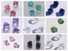 Buy Now Swarovski elements Top-Drilled Bicone 6301 Pendants... Swarovski Crystal Beads, Crystal Pendant, Sale Items, Buy Now, Drill, Pendants, Top, Stuff To Buy, Color