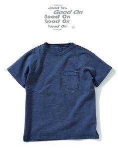 S/S Heavy Raglan Pocket Tee (cotton 100% / 9oz heavy jersey)  重厚なヘビーオンス生地と計算されたサイズスペック。 心地良く、かつ着応えのある名品。  毎年中毒者が続出のヘビーデューティーなTシャツが今年も登場!  #GoodOn