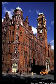 Palace Building on Oxford Road, Manchester, UK