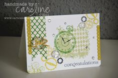 Clockworks card for Ant's colour challenge 002