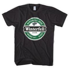 Game of Thrones Heineken style t shirt