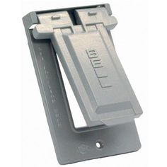 HubbellBell 51030 Weatherproof Single Gang Vertical Device Mount Cover GFCI ** Want additional info? Click on the image.