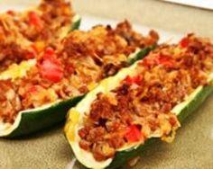 Courgettes farcies légères (facile, rapide) - Une recette CuisineAZ