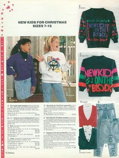 Pictures From the Golden Days of JCPenney - Yahoo! Finance - my gran bought me the NKotB sweater, I was the envy of all who saw it!