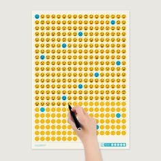 1 | Infographic: This Emoticon-A-Day Calendar Lets You Creatively Catalog Your Mood | Co.Design: business + innovation + design