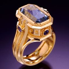 Love the stone ~ beautiful ring