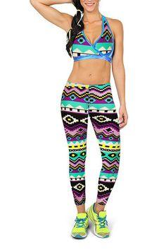 Bohemian Print Sport Fashion Leggings from mobile - US$13.95 -YOINS