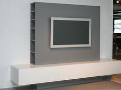TV wand (TV meubel) van steigerhout. www.vanlonden.com  TV Wall ...