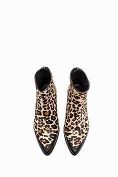 zadig-et-volt… - Dessandales Bootie Boots, Shoe Boots, Shoes Sandals, Ankle Boots, Crazy Shoes, Me Too Shoes, Boots Leopard, Cheetah, Mode Shoes