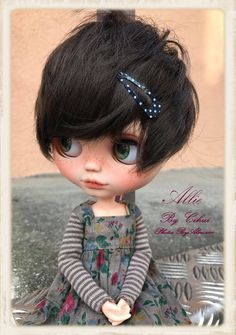ALLiE Ooak Custom Blythe Doll by ByAlsw on Etsy https://www.etsy.com/listing/511251258/allie-ooak-custom-blythe-doll