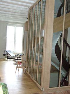 Chantier de peinture LITTLE GREENE  conseil couleur et conseil agencement escalier par AZURA Blois