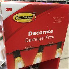 Decorate Damage-Free Command Strip Mini Sidekick – Fixtures Close Up Command Strips, Mini, Free, Decor, Decoration, Decorating, Deco
