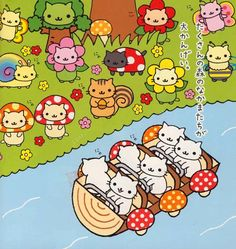 Merrily we roll along... Nyan Nyan Nyanko from San-X
