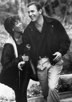 Whitney Houston starred with Kevin Costner in The Bodyguard.