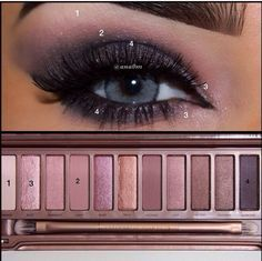 naked 3 palette looks blue eyes - Google Search