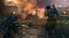 Gears of War is going to start mixing PC and Xbox players for ranked matches