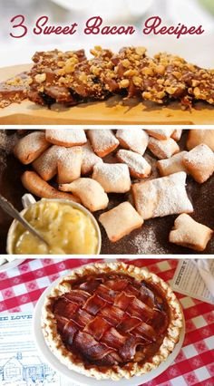 Outrageous Recipes: Chocolate Covered Bacon, Bacon Beignets and Bacon Apple Pie | Relish.com