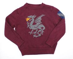 Boys Sweater with Dragon by Baby Gap in Size 5, Only $5.50 ~ Buy Resale & Save Money!