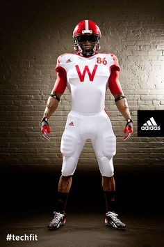 Wisconsin joins Nebraska with new adidas football uniforms for the upcoming  Unrivaled Game. ede4f9b3f