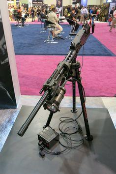 Machine Gun with Hellfighter Mount and Hellfighter light. Weapons Guns, Military Weapons, Guns And Ammo, Big Guns, Cool Guns, Light Machine Gun, Machine Guns, Assault Weapon, Tactical Gear