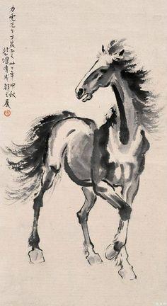 Xu Bei Hong 徐悲鴻 (1895-1953)