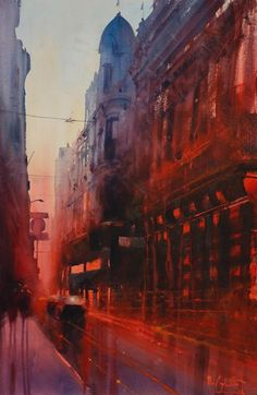 Art Of Watercolor: Alvaro Castagnet. Christmas Interview #watercolor jd