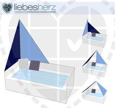 Wohnaccessoires - Bettsegel - Segel für Kinderbetten - Pirat - ein Designerstück von dein-liebesherz bei DaWanda