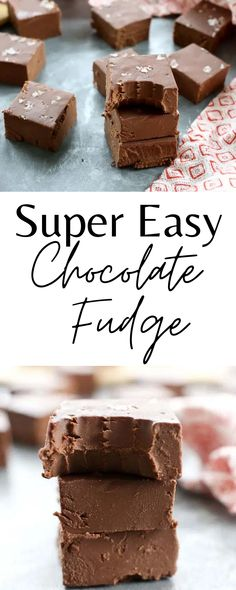 You would never guess this chocolate fudge is vegan, low-carb, and keto! It's so easy and so good!