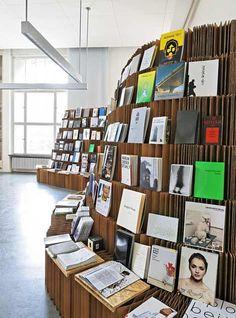 UdK Bookshop 2010 by Dalia Butvidaite, Leonard Steidle and Johannes Drechsler - Dezeen