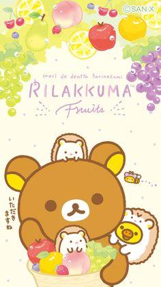 Sanrio Wallpaper, Kawaii Wallpaper, Cute Wallpaper Backgrounds, Iphone Wallpaper, Cute Animal Drawings Kawaii, Kawaii Drawings, Rilakkuma, Cool Wallpapers For Phones, Cute Wallpapers