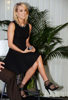 Giving back: Carrie Underwood announced her partnership with Carnival Cruise Line and Operation Homefront at the River Club in Florida on Thursday