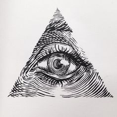 New eye drawing tattoo weird ideas Tattoo Sketches, Tattoo Drawings, Art Sketches, Art Drawings, Et Tattoo, Tattoo Hals, Pyramid Tattoo, Eye Illustration, Eye Art