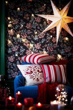 Guirlande et ambiance cosy pour Noël 2016 avec IKEA  http://www.homelisty.com/ikea-noel-2016/