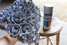 Godzgear Blog: Egg Carton Roses and a Gorgeous DIY Lamp Shade!