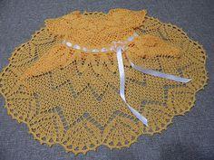 VESTIDO PARA NIÑA Y BEBE ZIG ZAG A CROCHET | Patrones Crochet, Manualidades y Reciclado
