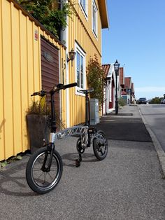 Future one in Karlskrona Sweden. Great trip with folding bike. Sweden, Tech, Bike, Future, Design, Karlskrona, Tecnologia, Bicycle Kick, Bicycle