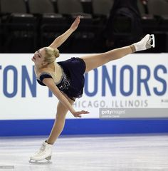 Gracie Gold competes in the Ladies Short Program during the 2014 Hilton HHonors Skate America competition at the Sears Centre Arena on October 25, 2014 in Hoffman Estates, Illinois.