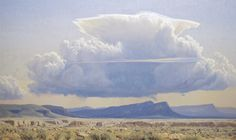 Wilson Hurley - A CUMULUS CLOUD BUILDING OVER 4TH OF