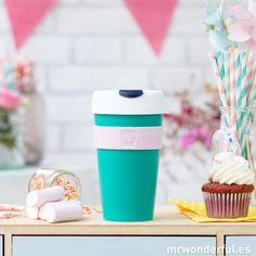 Taza keep cup Berlin Verde Tapas, Mr Wonderful, Mini Cupcakes, Things To Buy, Oreo, Coffee Cups, Berlin, Mugs, Tableware