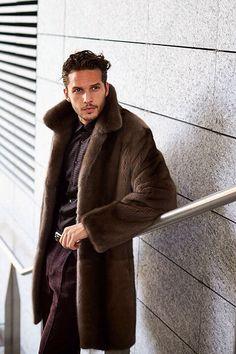 Mink Fur Coat...soooo handsome