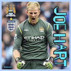 Joe Hart (England & Manchester City) #mcfc