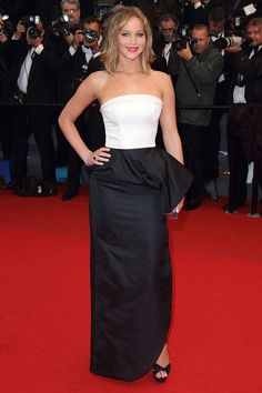 In Dior at the Cannes Film festival.   - ELLE.com