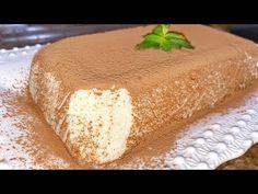 Doar 3 ingrediente şi ai un desert original perfect pentru cei la dietă/Sufleu fără coacere |Danutax - YouTube Natur House, No Cook Desserts, 20 Min, Vanilla Cake, Cheesecake, Deserts, Restaurant, Cooking, 3 Ingredients