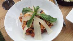 Tagliatelle s grilovanou zeleninou a parmezánom