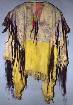 War Shirt | One does not sell the earth on which people walk ~ Crazy Horse 1875