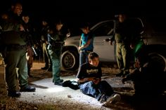 2013: The Year in Pictures - The New York Times United Stated Border Patrol agents detained migrants From Guatemala