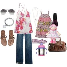 """""""Mommy and me"""" date outfit? :)"""