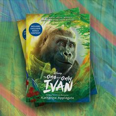 The #1 New York Times bestselling and Newbery Award-winning novel The One and Only Ivan is coming to Disney  this summer, with a star-studded cast including Sam Rockwell, Angelina Jolie, Danny DeVito, Helen Mirren, Bryan Cranston, and more! This movie tie-in hardcover edition features full-color images from the film, quotes from the stars, and new cover art. Newbery Award, Newbery Medal, Dog Books, Animal Books, One And Only Ivan, Celebrity Books, Unexpected Friendship, Elephant Book, Movie Night Snacks
