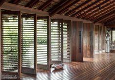 Fantastic wooden shutters